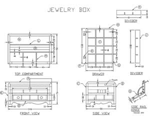 woodworking music box plans