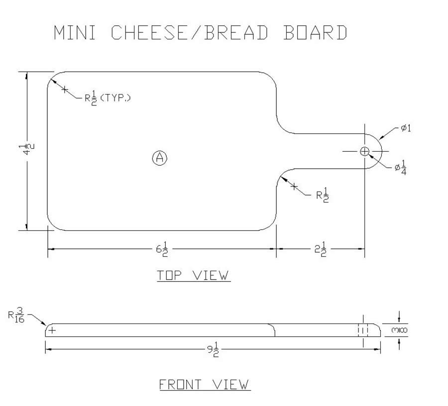 Cheese Board Plans Woodworking Projects