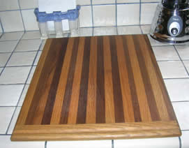 Simple Edge Grain Cutting Board Plan