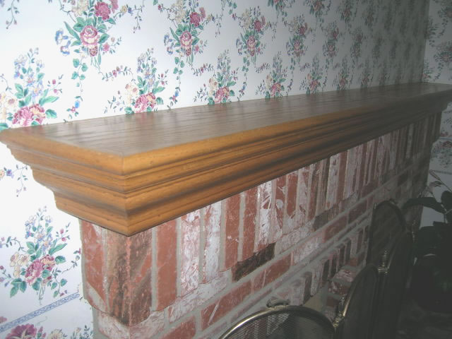 plans for wood mantels