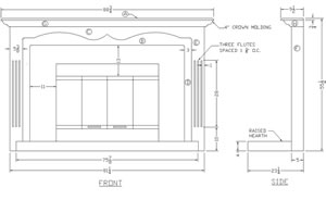 How to Build a Fireplace Mantel Surround