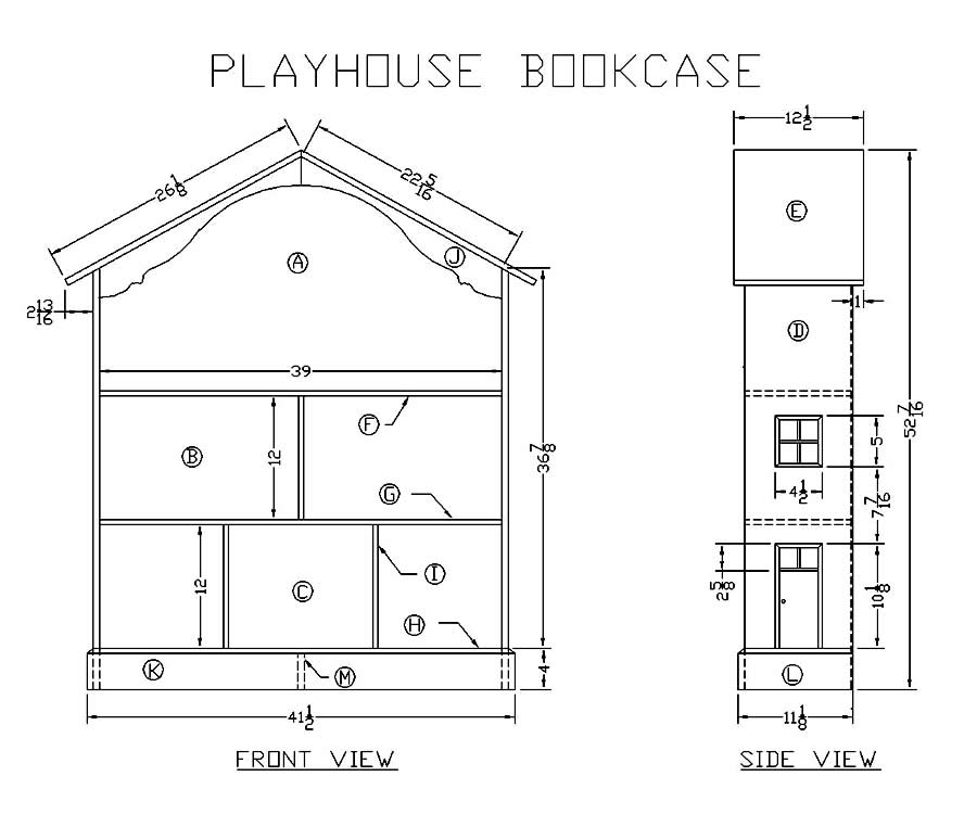 build wooden playhouse plans